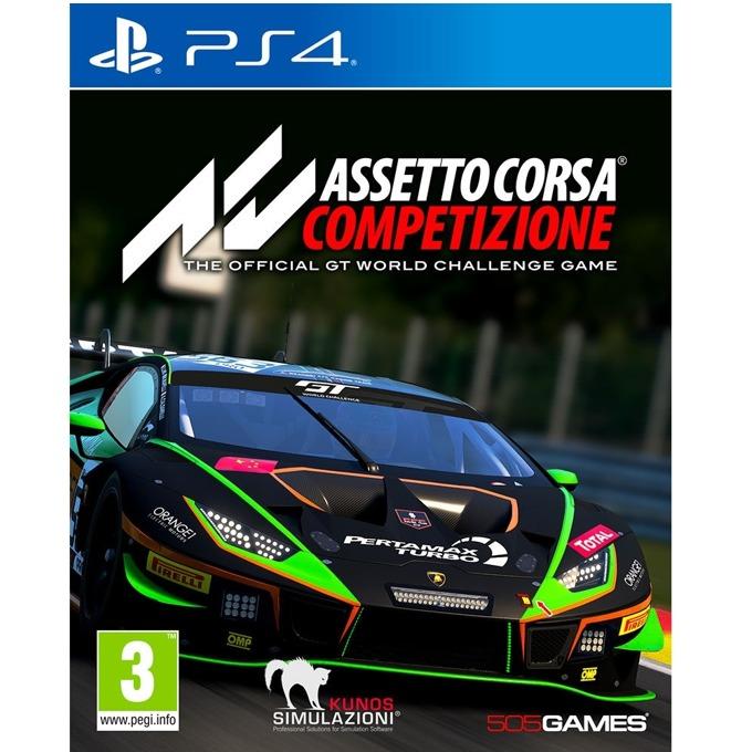Игра за конзола Assetto Corsa: Competizione, за PS4 image