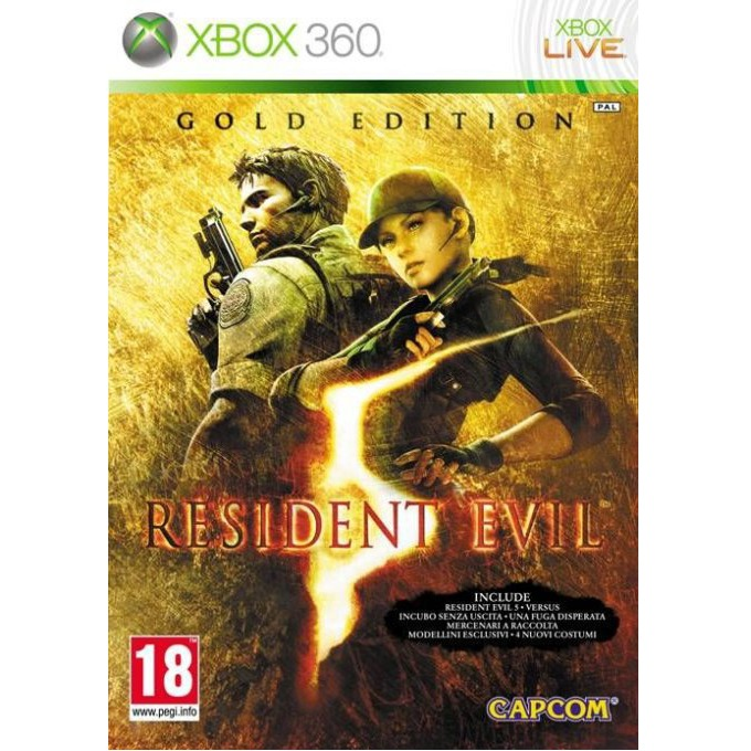 Resident Evil 5 - Gold Edition, за XBOX360 image