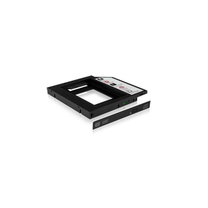 "Адаптер Raidsonic ICY BOX IB-AC642, DVD към 2.5"" (6.35 cm) SATA SSD/HDD, 12.7mm image"