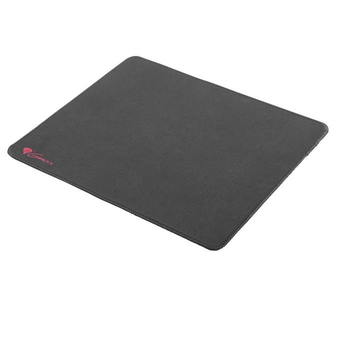 Подложка за мишка Natec Genesis M12 LOGO, гейминг, сива с червено лого, 300 x 250 x 2.5mm image