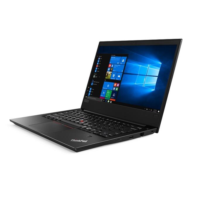 "Лаптоп Lenovo ThinkPad E480 (20KN001QBM/3), четириядрен Kaby Lake R Intel Core i5-8250U 1.6/3.4GHz, 14.0"" (35.56 cm) Full HD IPS дисплей(HDMI), 8GB DDR4, 256GB SSD, 1x USB 3.1 Type-C, Windows 10 Pro, 1.75kg image"