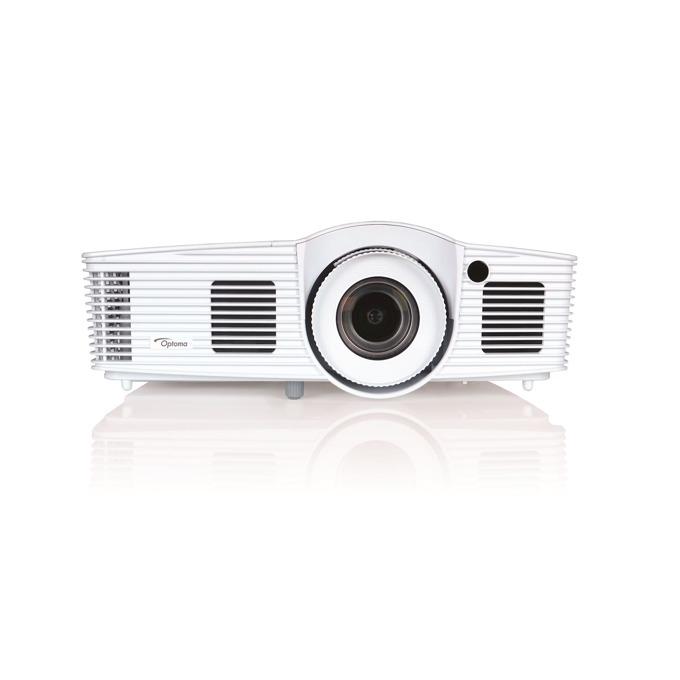 Проектор Optoma HD39Darbee, DLP, Full 3D, Full HD (1920 x 1080), 32,000:1, 3500 lm, 2x HDMI, USB A, бял image
