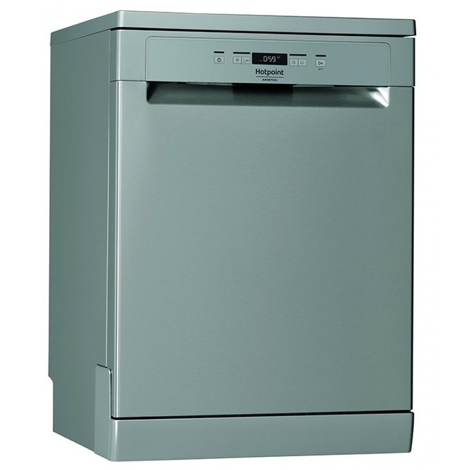 Съдомиялна Hotpoint-Ariston HFC 3B19X, клас А+, 13 комплекта, 5 програми, 4 температури, инокс image