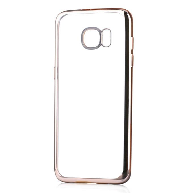 Силиконов протектор за Samsung Galaxy S7, златист image