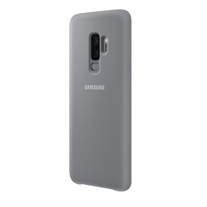 Калъф за Samsung Galaxy S9 +, протектор, силиконов, Samsung EF-PG965TJEGWW, сив image