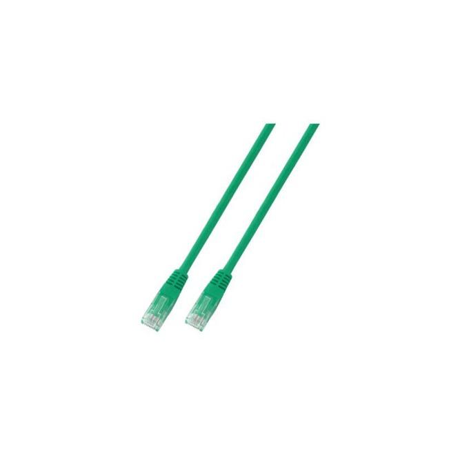Пач кабел UTP EFB Elektronik, 2m, Cat 5E, пач-кабел, зелен image