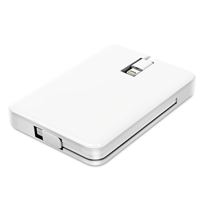 Външна батерия/power bank/ Macally Battery Pack 3000 mAh, бял image