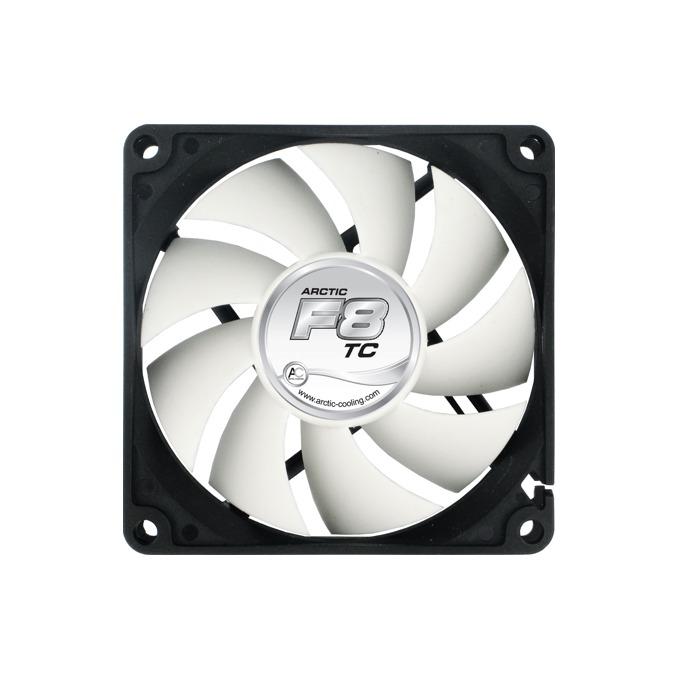 Вентилатор 80mm, Arctic Fan F8 TC, Fluid Dynamic Bearing image