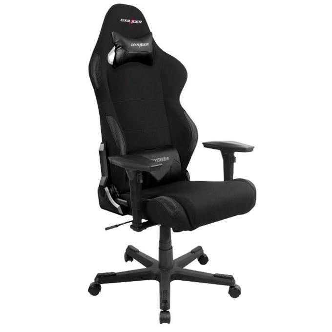 Геймърски стол DXRacer RACING OH-RC01-N, черен image