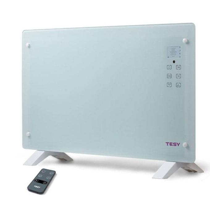Конвектор Tesy CN 205 EASLFR, 2 степени, LED дисплей,Двойна защита от прегряване, защитен термостат, 2000W, сив image