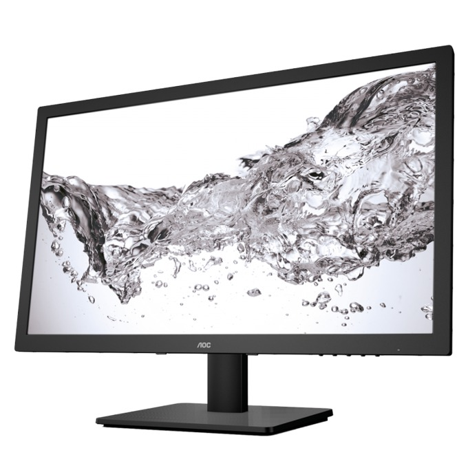 """Монитор AOC E2475SWJ, 23.6"""" (59.94 cm), TN панел, Full HD, 1ms, 20 000 000:1, 250 cd/m2, HDMI, DVI, VGA image"""