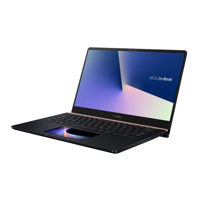 "Лаптоп Asus ZenBook Pro 14 UX480FD-BE043T (90NB0JT1-M02540), четириядрен Whiskey Lake Intel Core i5-8265U 1.6/3.9 GHz, 15.6"" (39.62 cm) FHD Anti-Glare Display & GeForce GTX 1050 2GB , (HDMI), 8GB DDR4, 256GB SSD, USB 3.1 Type-C, Windows 10, 1.60 kg image"
