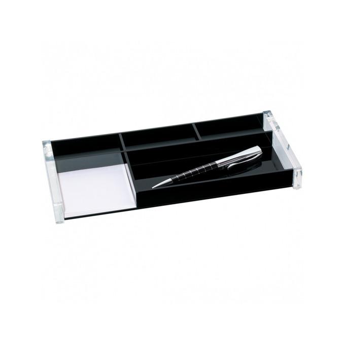 Органайзер за бюро Wedo Acrylic Exclusive 1601, черен image