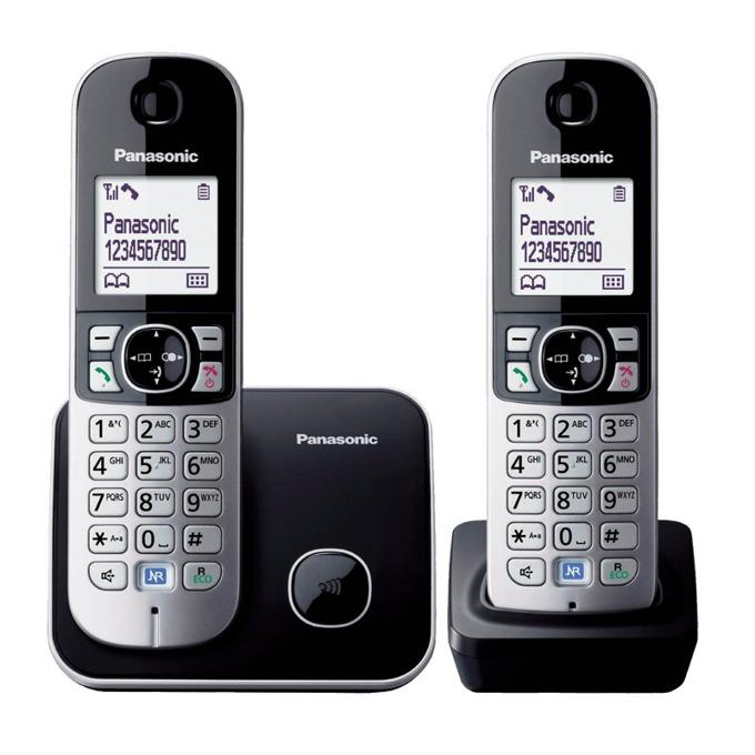 Безжичен телефон Panasonic KX-TG 6812FXB 1015111