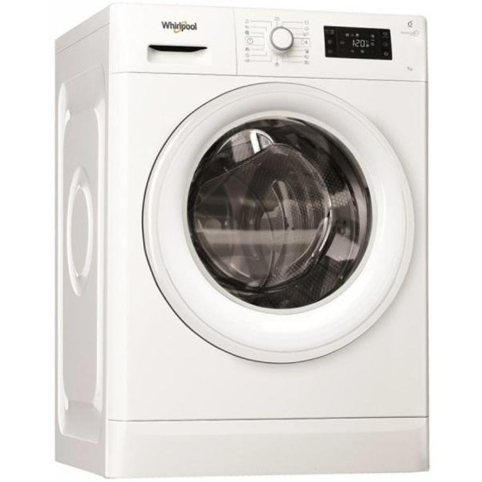 Перална машина Whirlpool FWSG 71283W EU, клас А+++, 7кг. капацитет, 1200 оборота в минута, 13 програми, свободностояща, 60 cm. ширина, бяла image