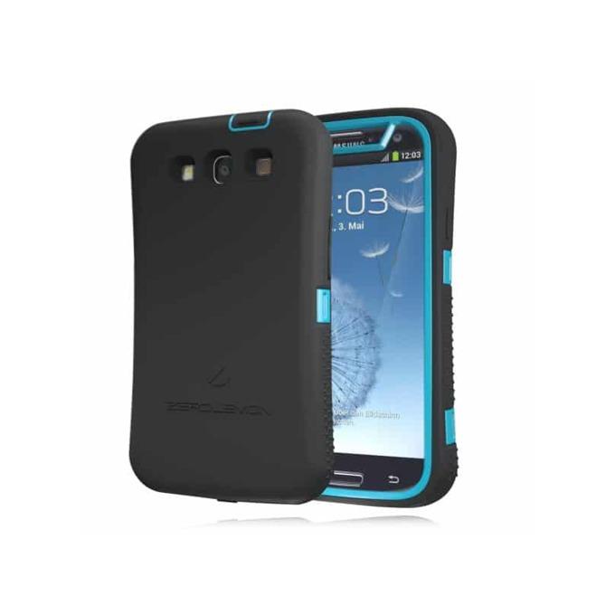 Протектор Zerolemon за Samsung Galaxy S3, черен/син image