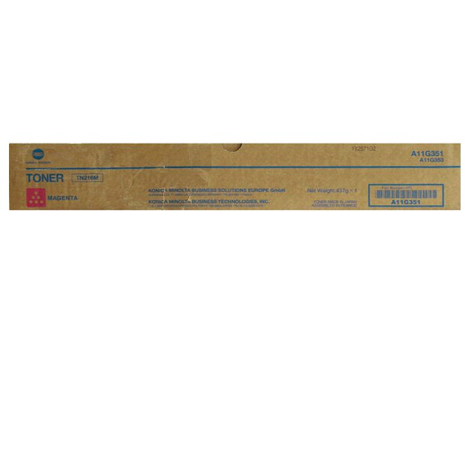 КАСЕТА ЗА KONICA MINOLTA BIZHUB C220/C280 - Magenta - TN216M -  P№ A11G351 - заб.: 26000k image