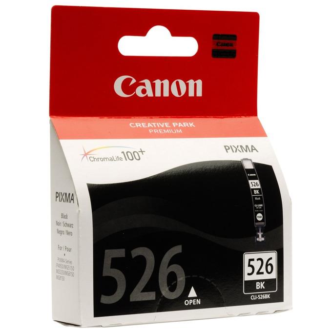 ГЛАВА CANON PIXMA iP 4850/MG5150/5250/6150/8150 - Black ink tank - P№ 4540B001/CLI-526B - заб.: 9ml. image