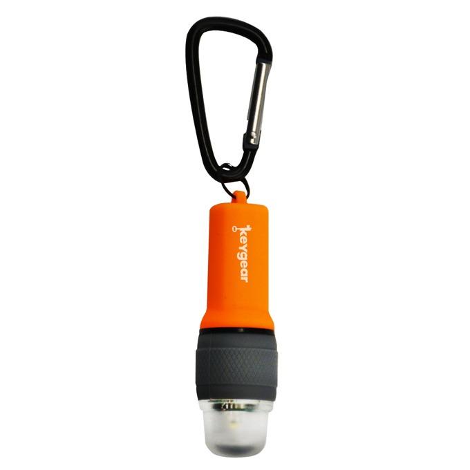 Фенер UST Brands 50-KEY0110-08, 1x ААА батерия, удароустойчив, водоустойчив, джобен, оранжев image
