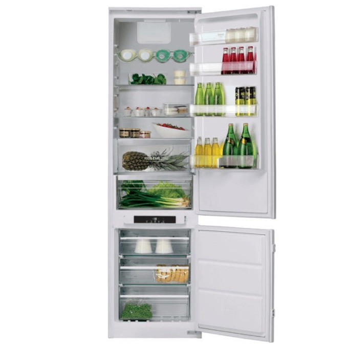 Хладилник с фризер Hotpoint-Ariston BCB 8020 AA F C, клас A+, 296 л. общ обем, за вграждане, 245 kWh/годишно, No Frost, бял image