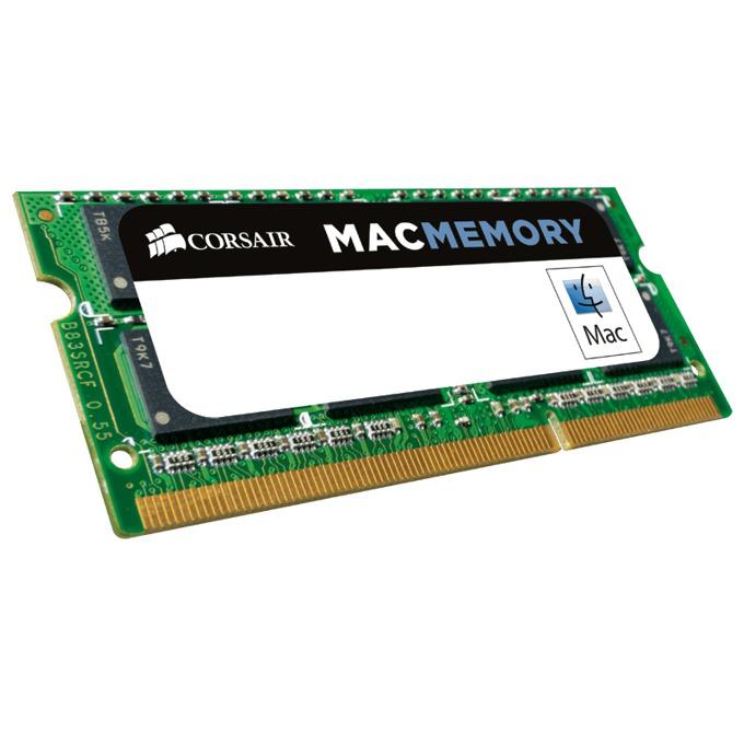 Памет 4GB DDR3 1333MHz, SO-DIMM Corsair CMSA4GX3M1A1333C9, 1.5V, Apple Qualified image