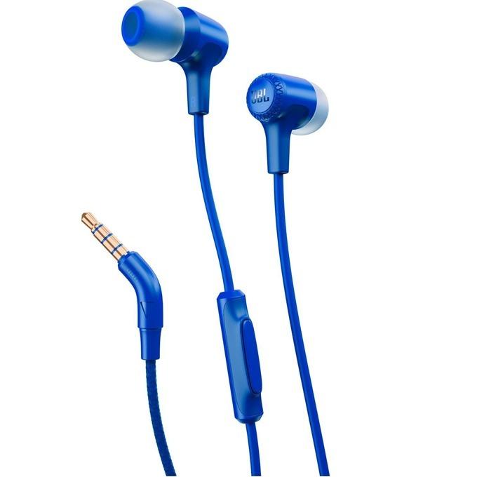 Слушалки JBL E15, микрофон, сини image