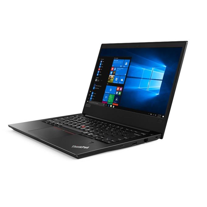 "Лаптоп Lenovo ThinkPad Edge E480 (20KN005CBM_3), четириядрен Kaby Lake R Intel Core i5-8250U 1.6/3.4 GHz, 14.0"" (35.56 cm) Full HD IPS Anti-Glare Display, (HDMI), 8GB DDR4, 1TB HDD, 1x USB 3.1 Type C, Free DOS, 1.75 kg image"