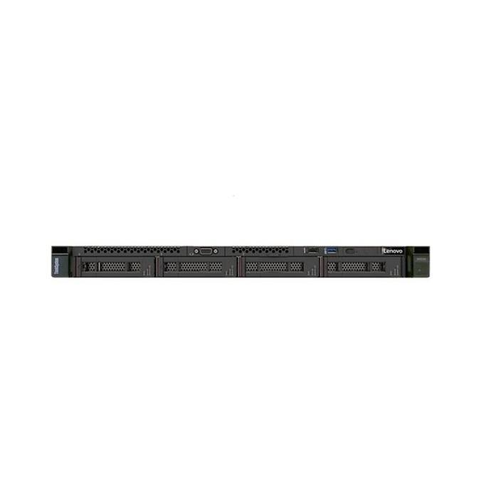 Сървър Lenovo ThinkSystem SR250 (7Y51A026EA), шестядрен Coffee Lake Intel Xeon E-2124 3.5/4.5 GHz, 8GB DDR4 UDIMM, без HDD, 1x GbE LOM, 2x USB 3.1, без ОС, 1x 450W  image