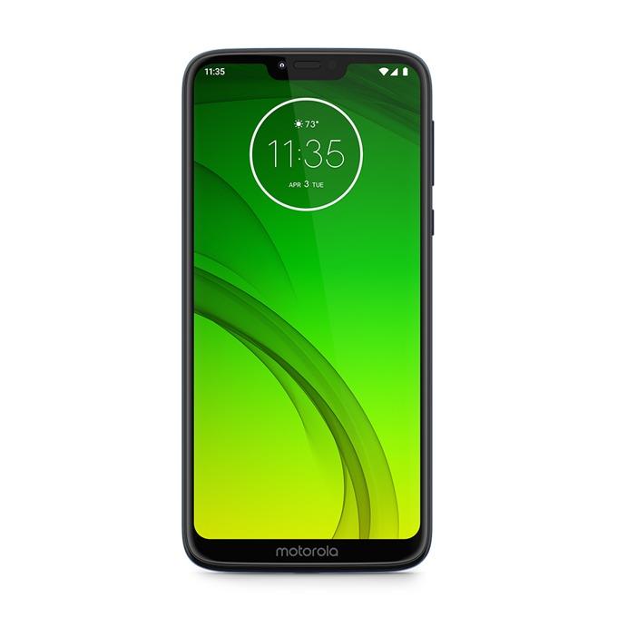 "Motorola G7 Power (черен), поддържа 2 sim карти, 6.2"" (15.75 cm) HD IPS дисплей, осемядрен Snapdragon 632 1.8 GHz, 4GB RAM, 64GB Flash памет (+ microSD слот), 12.0 MPix + 8.0 MPix камера, Android, 193 g image"