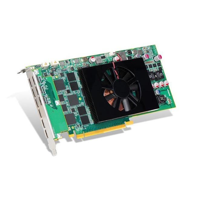 Видео карта Matrox C900 C900-E4GBF, 4GB, PCI-E 3.0, GDDR5, 9x miniHDMI, поддържа до 9x Full HD монитора едновременно image