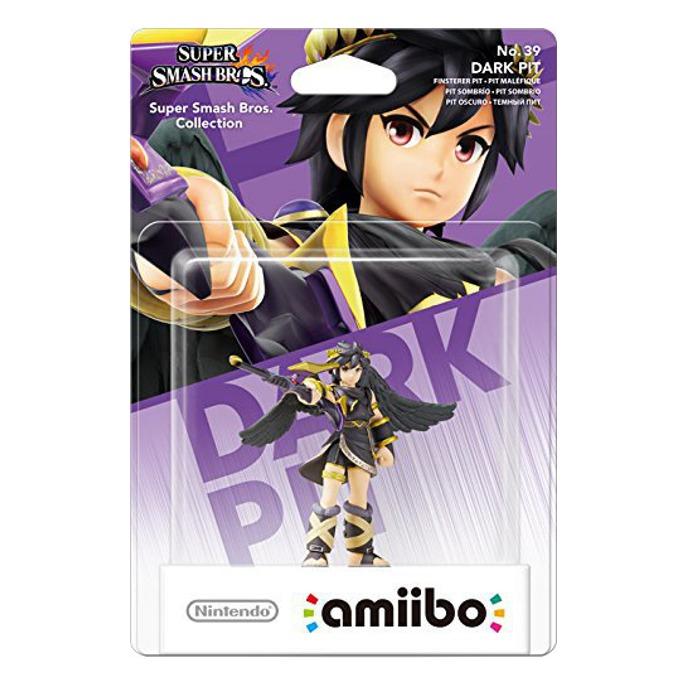 Фигура Nintendo Amiibo - Dark Pit, за Nintendo 3DS/2DS, Wii U image