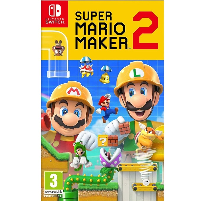Игра за конзола Super Mario Maker 2, за Nintendo Switch image
