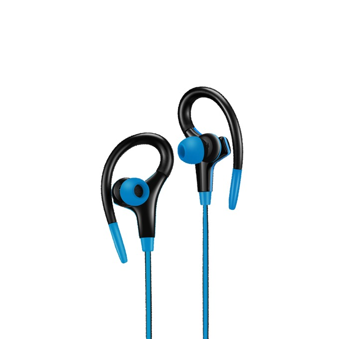 Слушалки Canyon CNS-SEP2BL, микрофон, черни/сини image