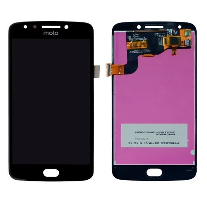 Дисплей за Motorola Moto E4, LCD original, с тъч, черен image