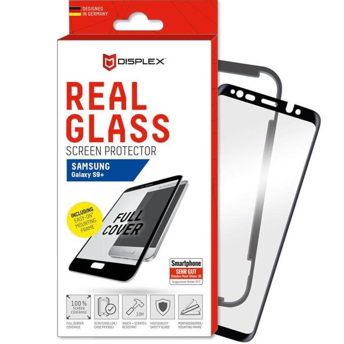 Протектор от закалено стъкло /Tempered Glass/, Displex за Samsung Galaxy S9 Plus image