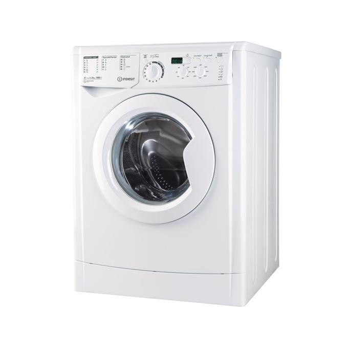 Перална машина Indesit EWSD 51051 W, клас A+, 5 кг. капацитет, 1000 оборота в минута, свободностояща, 60 cm. ширина, бяла image