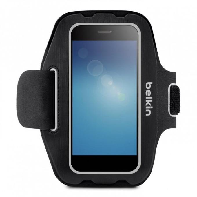Калъф за ръка Belkin Sport Armband Sport-Fit F8M952btC00 Universal за iPhone 6 и смартфони до 5 инча, черен image