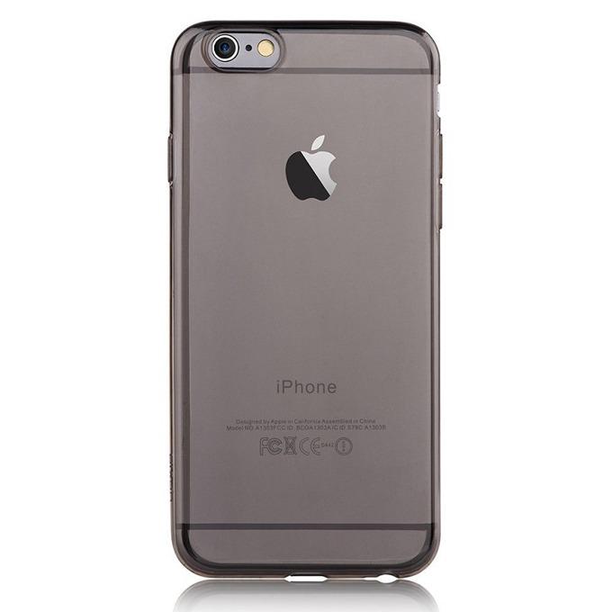 Термополиуретанов протектор Devia Naked Case, iPhone 65 Plus/iPhone 6 Plus, сив image