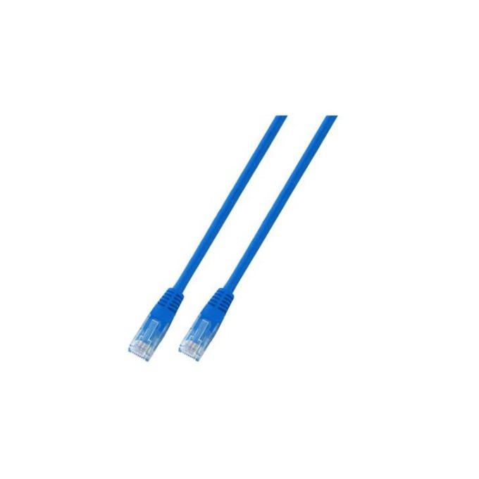 Пач кабел UTP EFB Elektronik, 3m, Cat 5E, син image