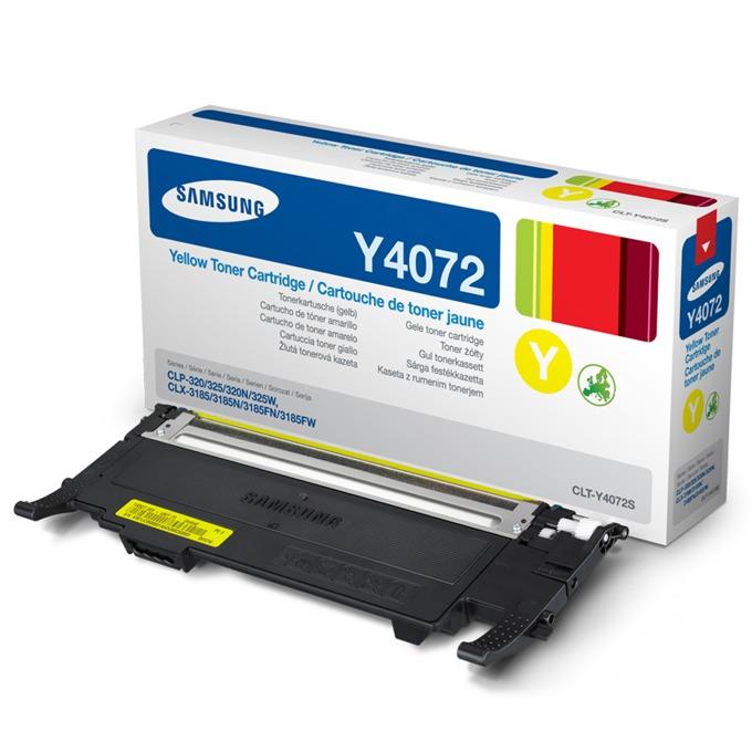 КАСЕТА ЗА SAMSUNG CLP320/320N/325/CLX 3185 - Yellow - P№ CLT-Y4072S - заб.: 1000k image