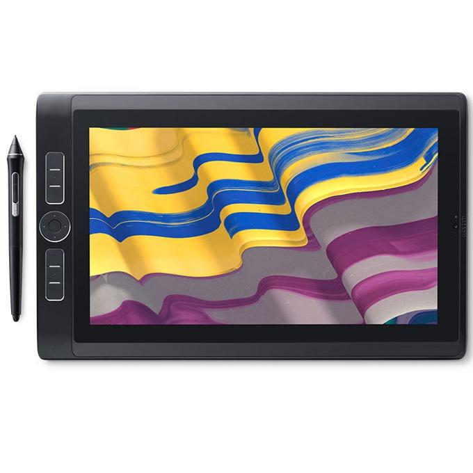 """Графичен таблет Wacom MobileStudio Pro 13 (черен)(DTH-W1320T-EU), 13.3""""(33.78cm) WQHD Multi-Touch LED Display, 64GB SSD, 4GB RAM image"""