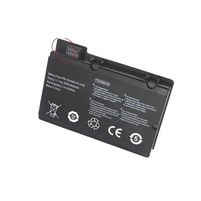 Батерия (заместител) за лаптоп Fujitsu Siemens, съвместима с модели Xi2428 Xi2548 Xi2550 Pi2530 Pi2540 Pi2550, 6 cells, 11.1V, 5200mAh image