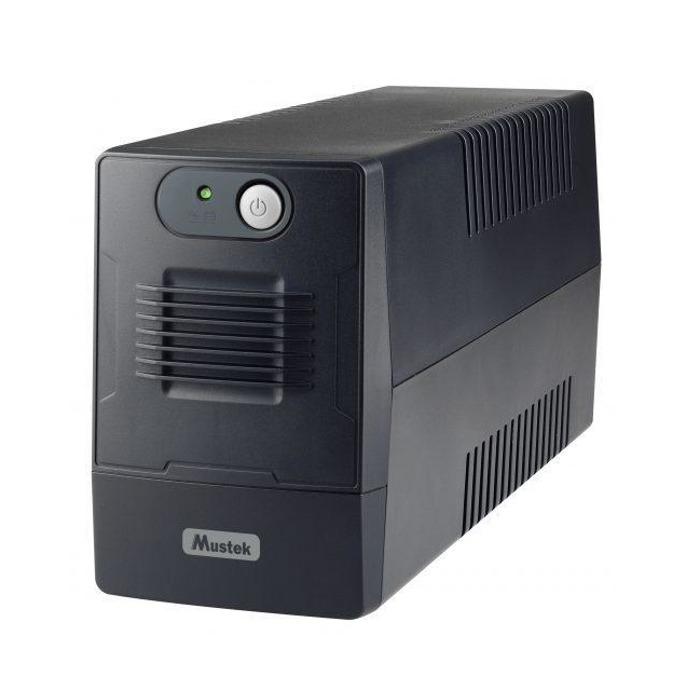 UPS Mustek PowerMust 800EG, 650VA/360W, Line Interactive, mini Tower image