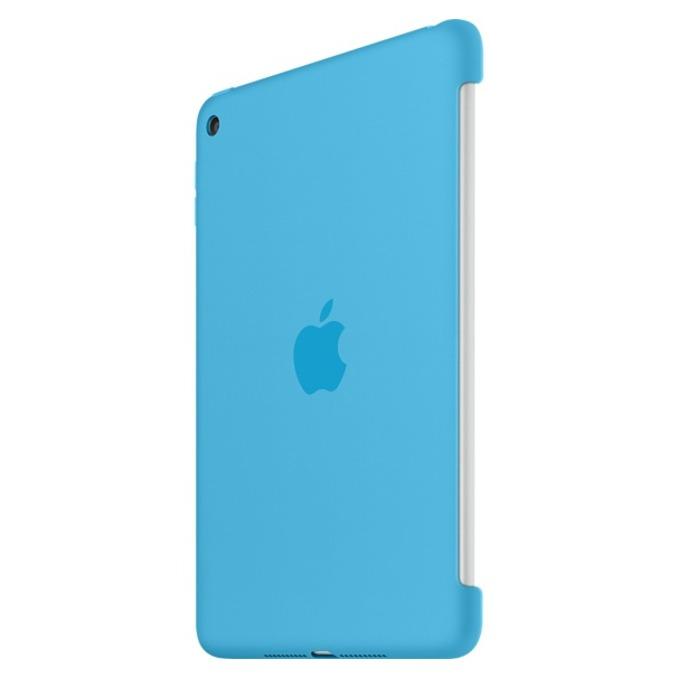 """Оригинален силиконов протектор Apple за таблет iPad mini 4, до 7.9"""" (20.07 cm), син image"""