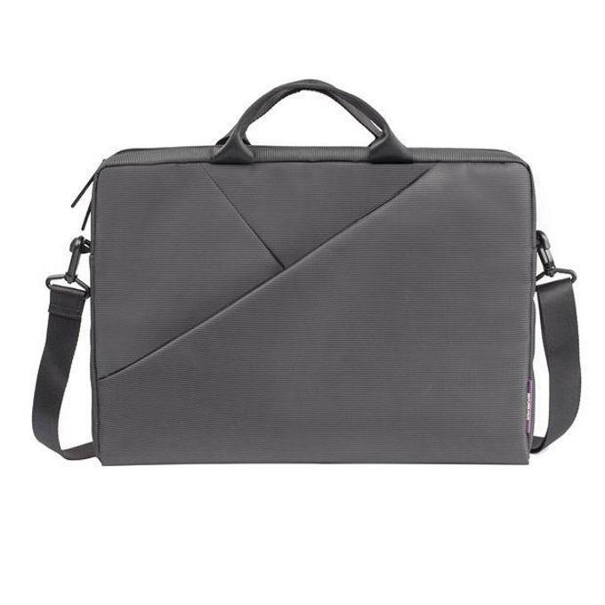 """Чанта за лаптоп Rivacase 8730 до 15.6"""" (39.60 cm), вътрешен джоб за таблети до 10.1"""" (25.65 cm), сива image"""