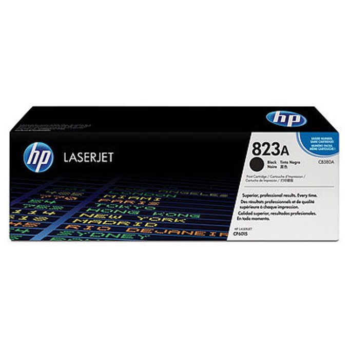 КАСЕТА ЗА HP COLOR LASER JET CP6015 - Black - P№ CB380A - заб.: 17000k image