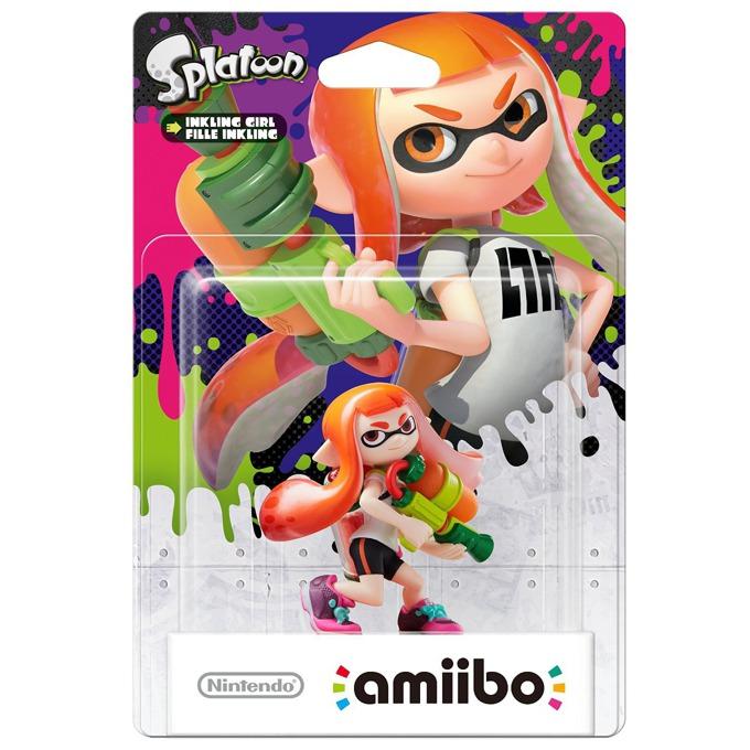 Фигура Nintendo Amiibo - Inkling Girl (Splatoon), за Nintendo 3DS/2DS, Wii U image