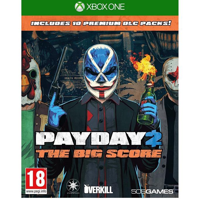 Игра за конзола Payday 2 The Big Score, за Xbox One image