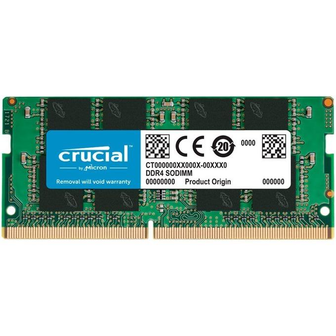 Памет 8GB 3200MHz, SO-DIMM, Crucial CT8G4SFRA32A, 1.2V image