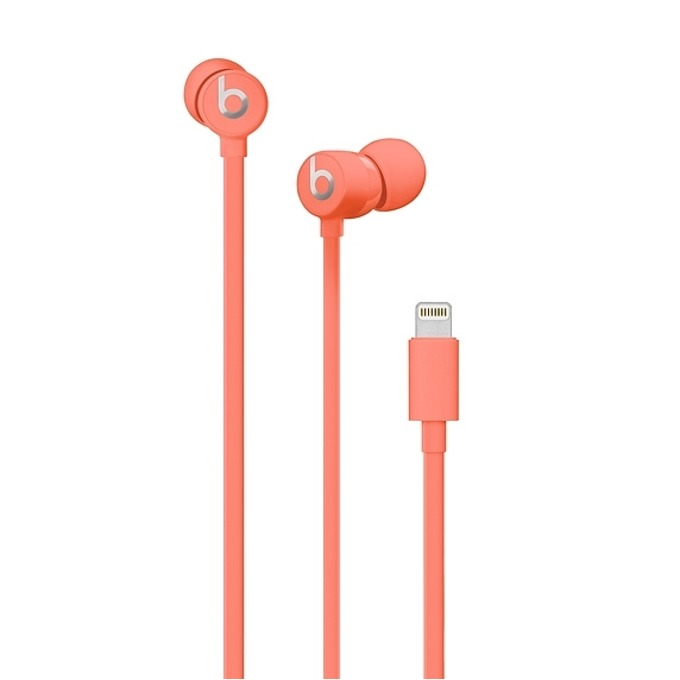 Слушалки Beats urBeats3, Lightning, микрофон, розови image